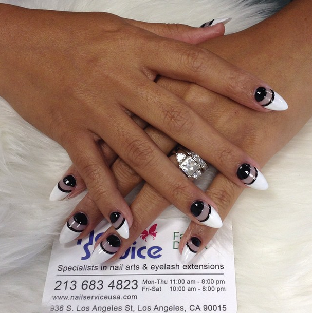 Nail Service delivers any nail art style -