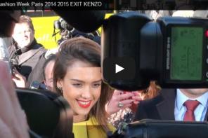 Fashion Week Paris EXIT KENZO with Jessica Alba