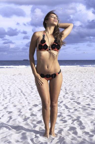 swimwear editorial, nora gouma, karo swimwear