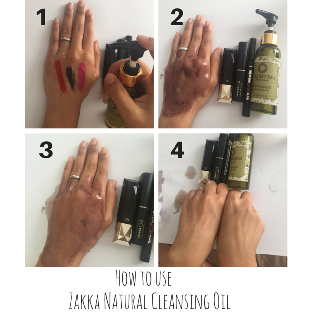 how_to_use_cleansing_oil