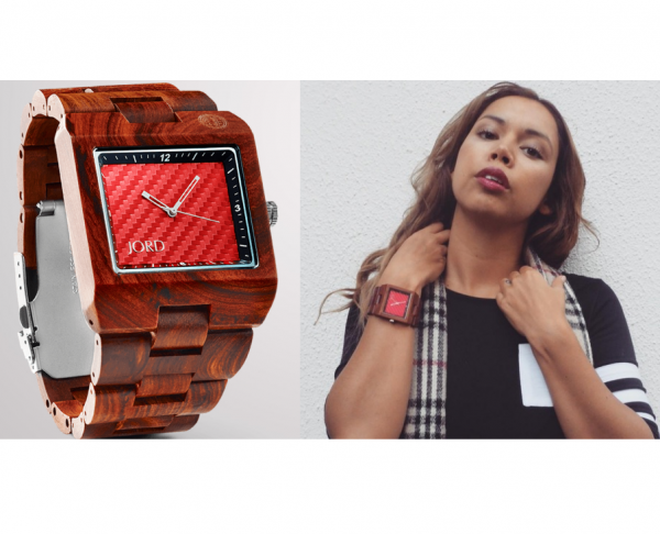 jord watch, nora gouma, wood watch