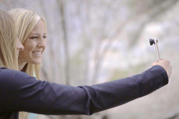 selfie stick, oola lens