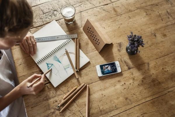 eco-conscious, DIY desktop accessories
